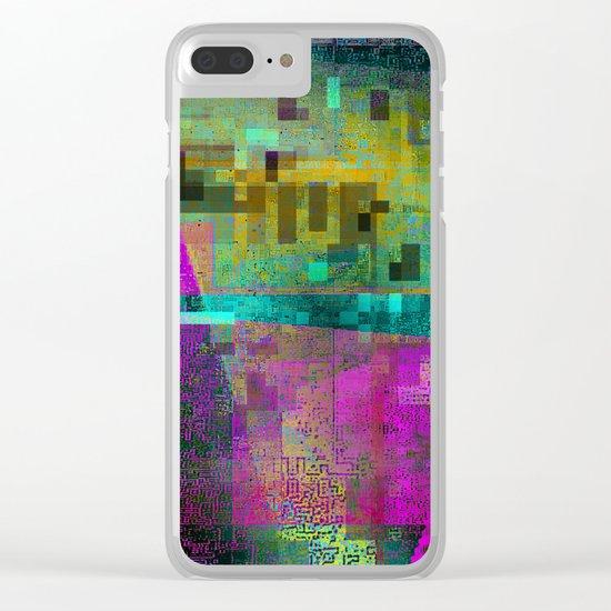 digital culture 1 Clear iPhone Case