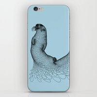 otter iPhone & iPod Skins featuring Otter by Julia Kisselmann