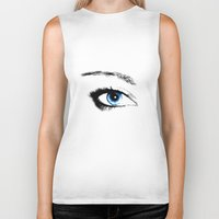 evil eye Biker Tanks featuring Evil Eye by vogel