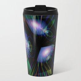 Abstract perfection - Light is energy Travel Mug