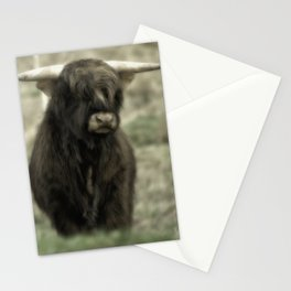 Highland Cattle III Stationery Cards