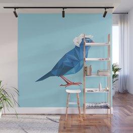 Birdie Sanders Wall Mural