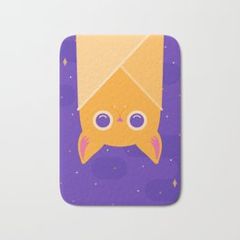 Golden Bat Bath Mat