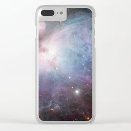 Orion Nebula Space Photo Clear iPhone Case