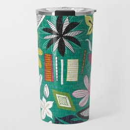 beachy jade Travel Mug