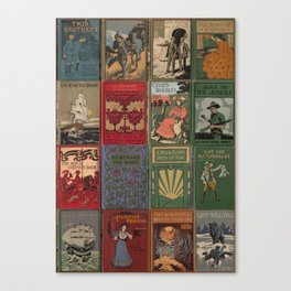 The Golden Age of Book Design Canvas Print