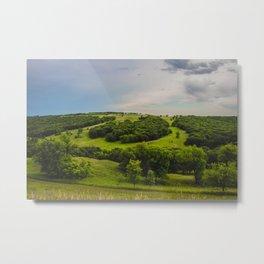 Fort Ransom State Park, North Dakota Metal Print