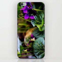 vivid violets iPhone Skin