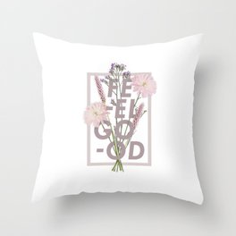 Feel Good Throw Pillow