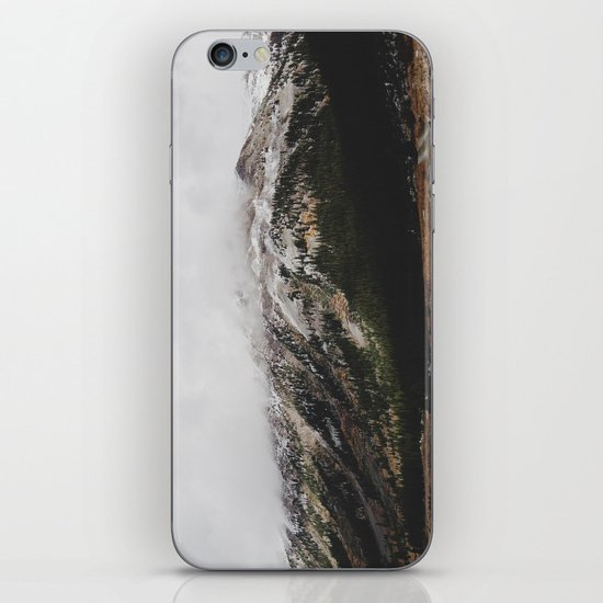 Snowcapped Mountains iPhone & iPod Skin