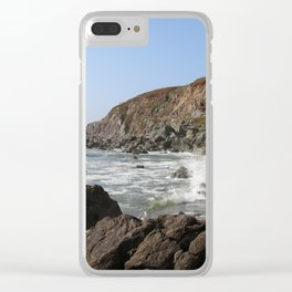 Bodega Bay Beach, Sonoma County, California Clear iPhone Case