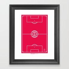 Universal Platform (Outlined) Framed Art Print