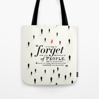 paper towns Tote Bags featuring Paper Towns by thatfandomshop