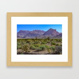 Painted Desert - IV Framed Art Print