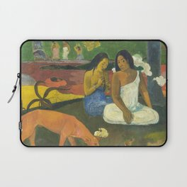 Arearea by Paul Gauguin Laptop Sleeve