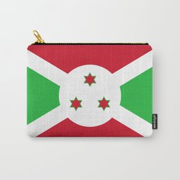 Burundi Flag Carry-All Pouch