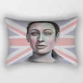 Jessica Ennis Rectangular Pillow