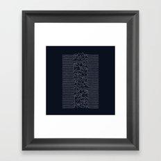 Furr Division Cats (Dark Blue) Framed Art Print