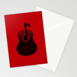 Classical Notes RED Stationery Cards