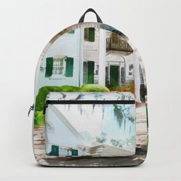 White Palm House Backpack