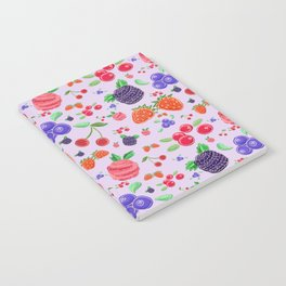 Have a berry berry sweet day. Notebook
