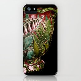 Minton Majolica Fern Jardiniere iPhone Case