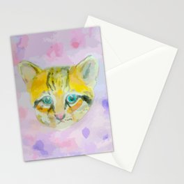A lot of Ocelot exotic cat Stationery Cards