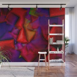 Cosy up to fireplace ... Wall Mural