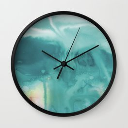 A Tranquil Dream No.1t by Kathy Morton Stanion Wall Clock
