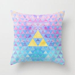 Zelda Geometry Throw Pillow