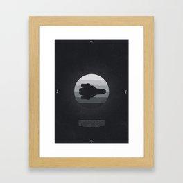 Faster Than Light - The Kestrel Framed Art Print