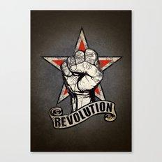 Up The Revolution! Canvas Print