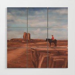 A desert affair Wood Wall Art