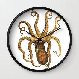 Oscar the octopus Wall Clock