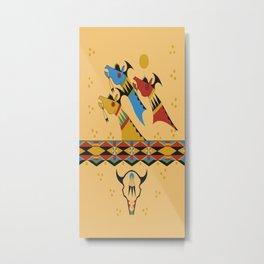 American Native Pattern No. 478 Metal Print