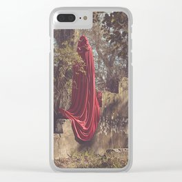 Time Crumbles Things Clear iPhone Case