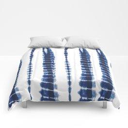 Indigo Blue Tie Dye Delight Comforters