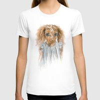 puppy T-shirts featuring Puppy by Leslie Evans