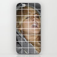lindsay lohan iPhone & iPod Skins featuring Lohan by Rude Lewd & Crude
