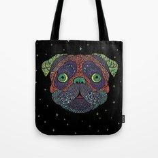 Intergalactic Dog Tote Bag