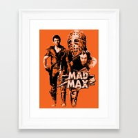 mad max Framed Art Prints featuring Mad Max by leea1968