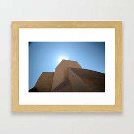 Iglesia - San Francisco de Asis Framed Art Print