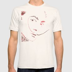 Dali MEDIUM Natural Mens Fitted Tee