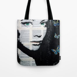 Yekaterina with butterflies Tote Bag