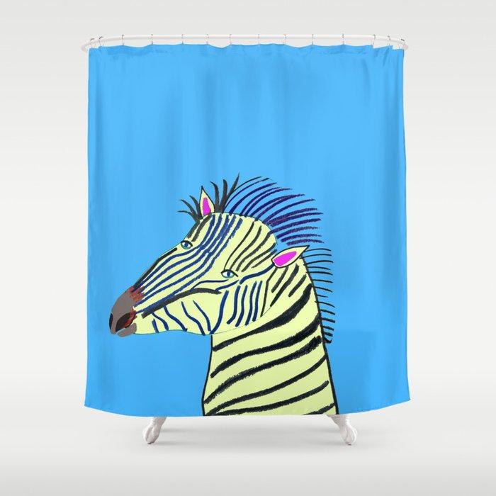 Zebra Shower Curtain By Ashleypercival