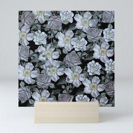 Roses at Night Mini Art Print