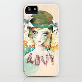 War girl iPhone Case