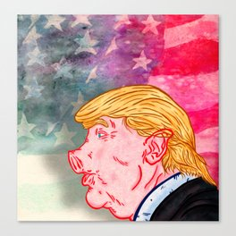 Trumpork Canvas Print
