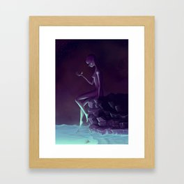 My Name is Little One Framed Art Print