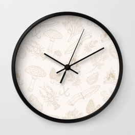 Nature Finds Wall Clock